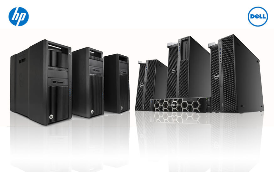 Dell and HP Servers/Workstations by StallionTek com